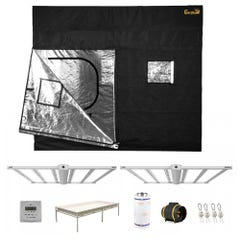 GrowPro Select 5x9 Luxx LED Gorilla Tent Package
