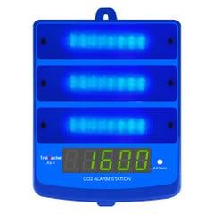 TrolMaster CO2 Alarm Station Blue Light for Carbon-X System