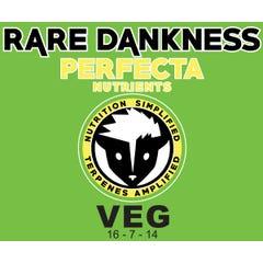 Rare Dankness Nutrients Perfecta VEG, 1 gallon pail, 6 lbs