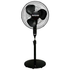 Hurricane Supreme Oscillating Stand Fan w/ Remote - 16 in - Black