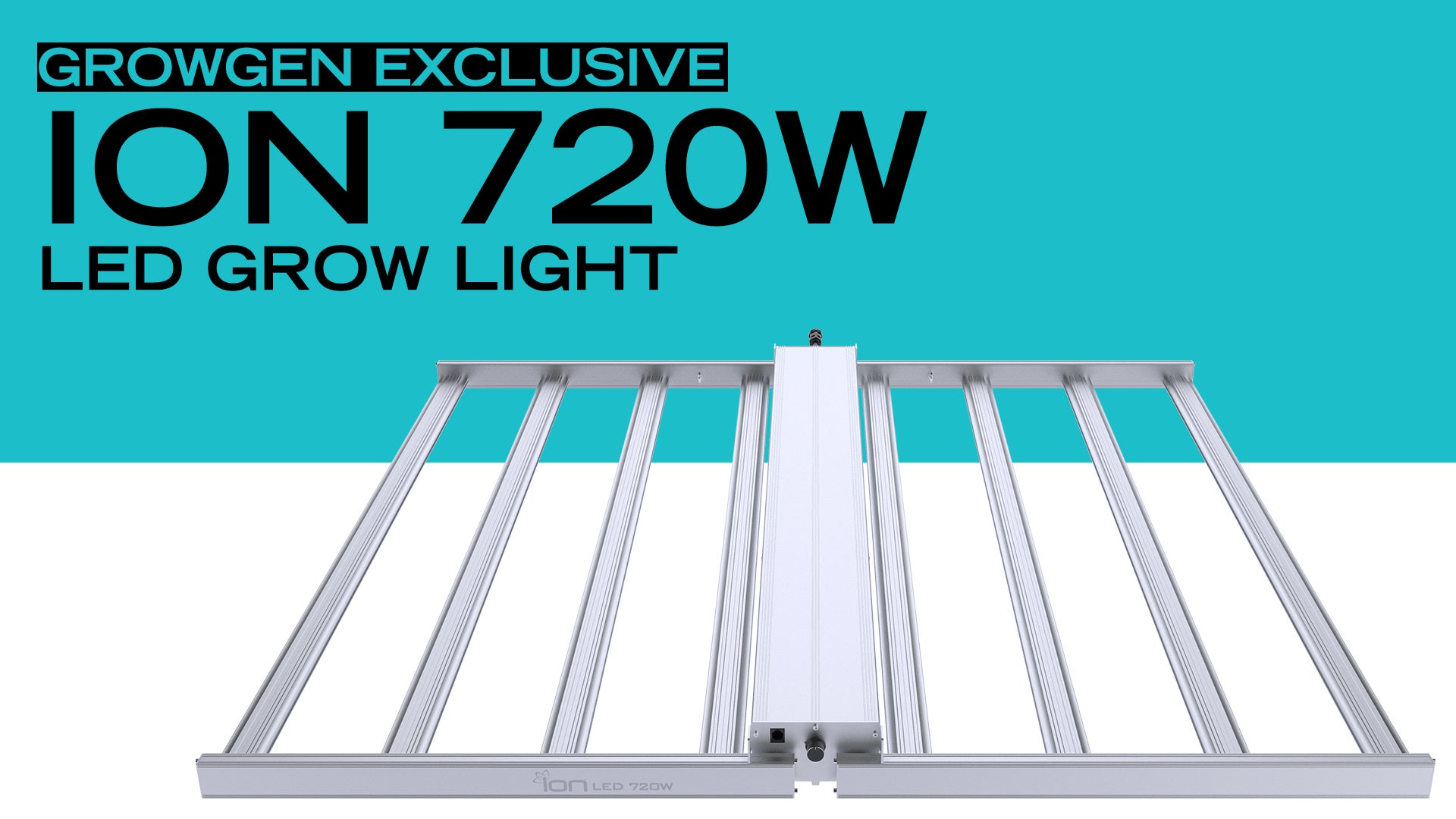 ION 720w LED Grow Light - GrowGeneration Exclusive