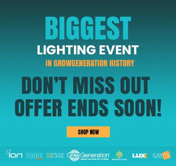 Biggest Lighting Event In GrowGen History