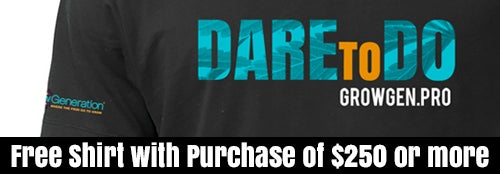 Free Shirt with purchase of $250 or more